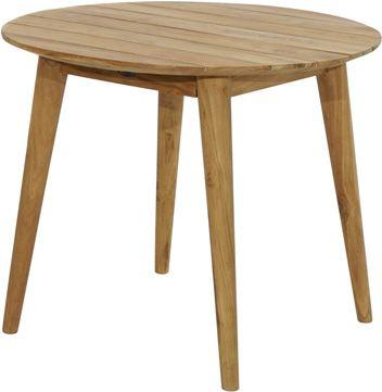 Design-Loft-Tisch WELLINGTON Premium Teak Ø90cm