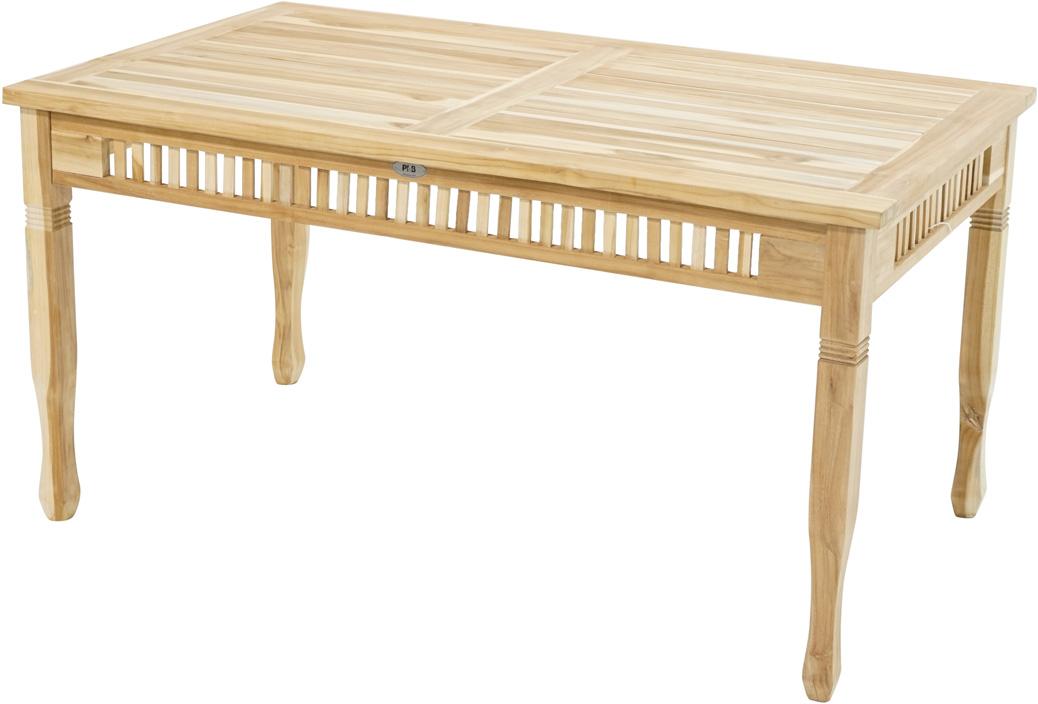 tisch new orleans eco teak 150x90cm tische sale gardanio ihr online shop f r. Black Bedroom Furniture Sets. Home Design Ideas